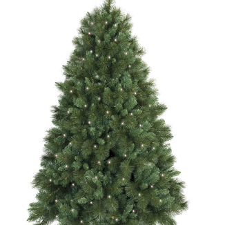 Christmas Tree - With LED Lights - Event Artillery