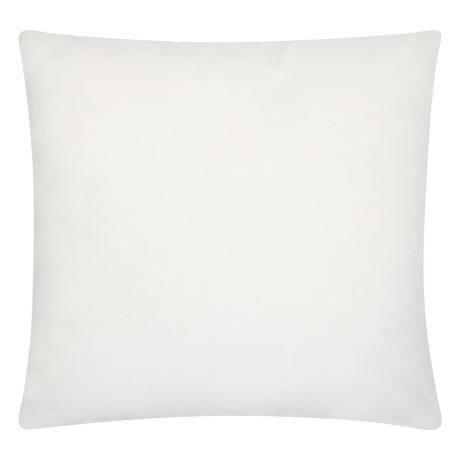 Velvet Throw Cushion - White - Event Artillery