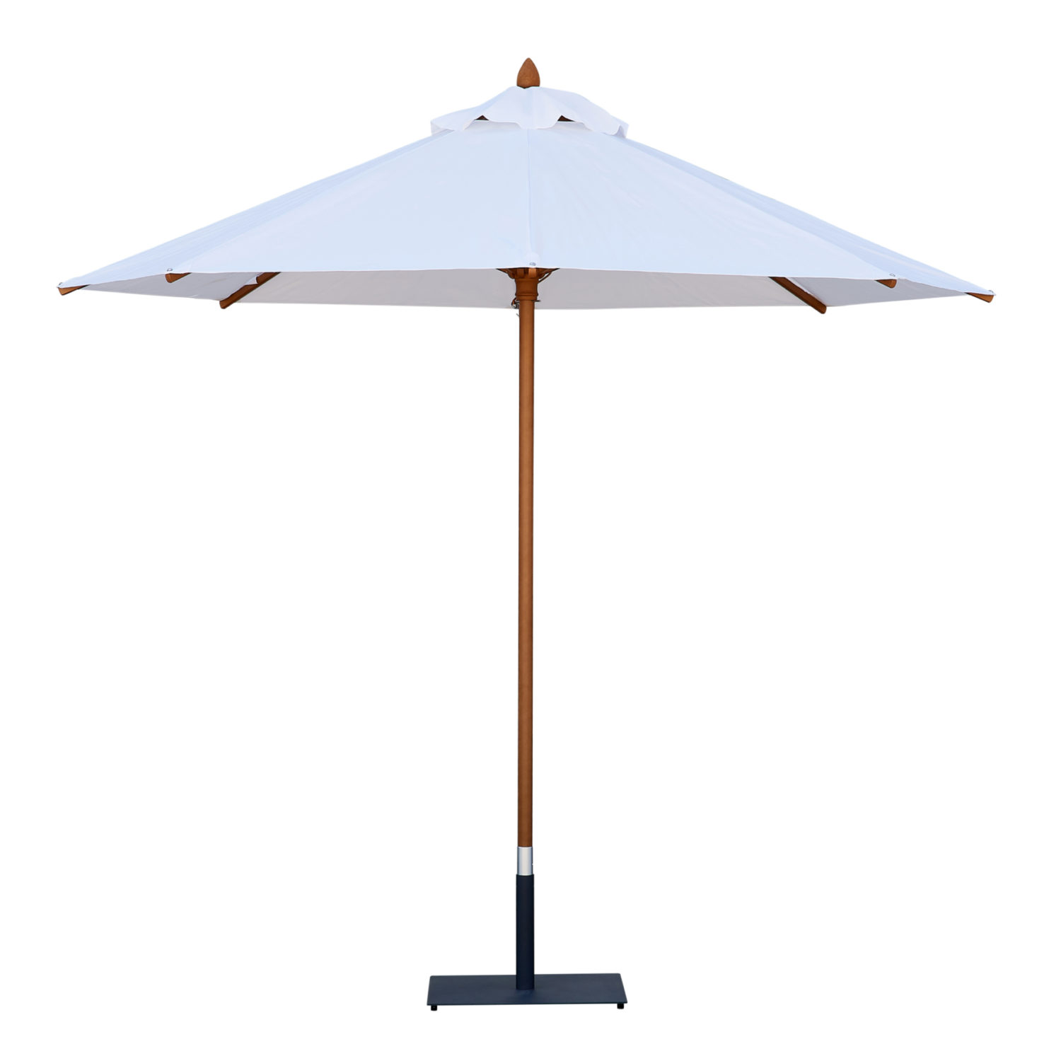 Market Umbrella - White 3m - Event Artillery