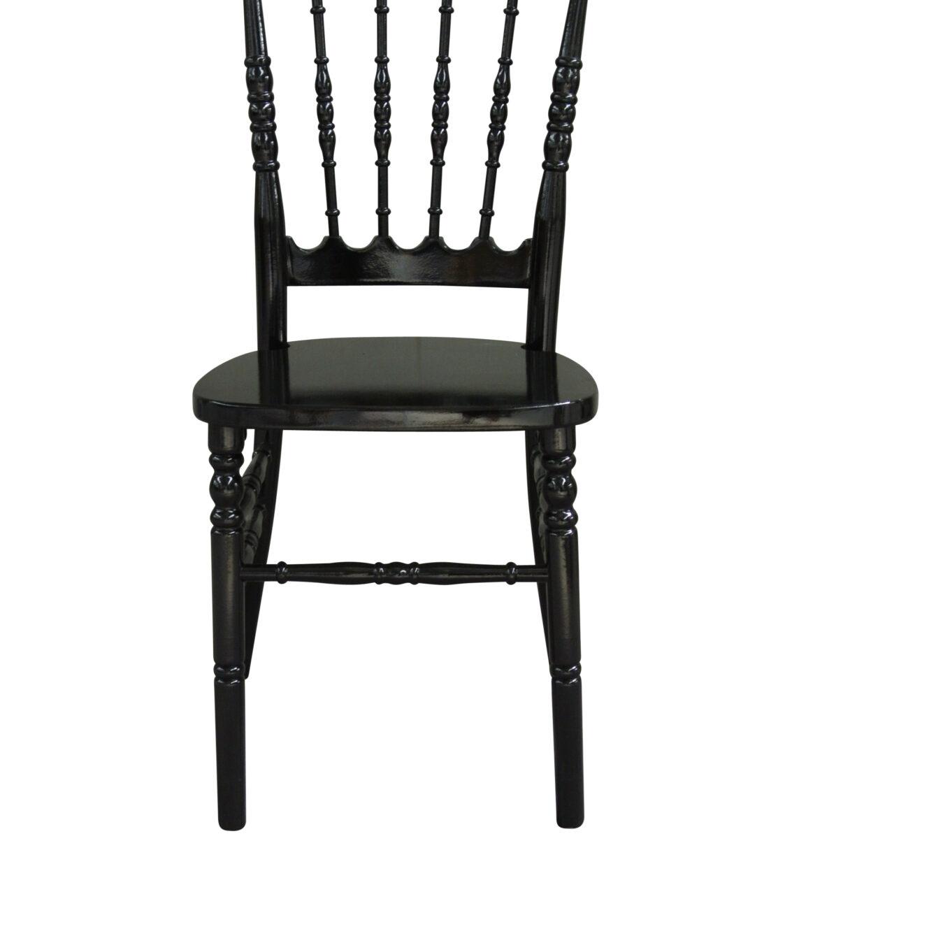 Napoleon Chair - Black - Event Artillery
