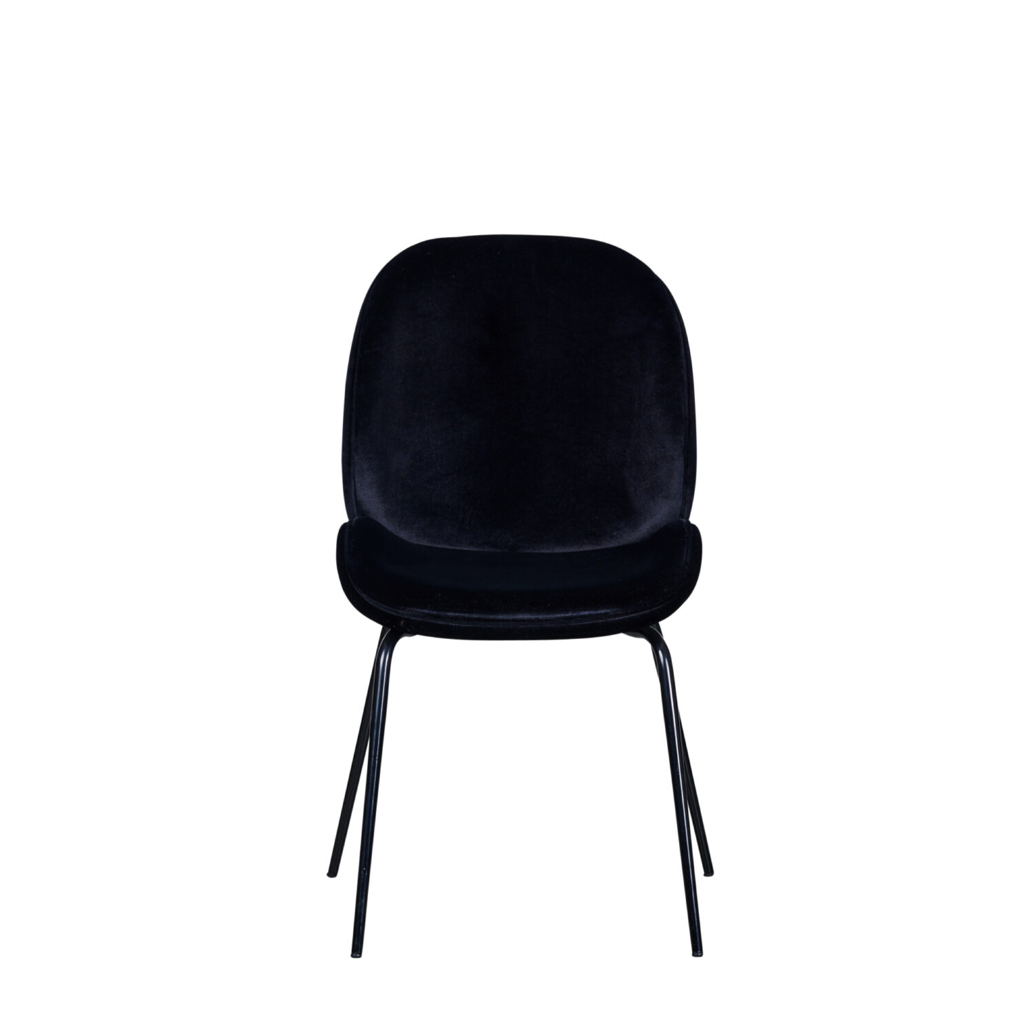 Grace Occasional Chair - Black Seat & Black Legs - Event Artillery