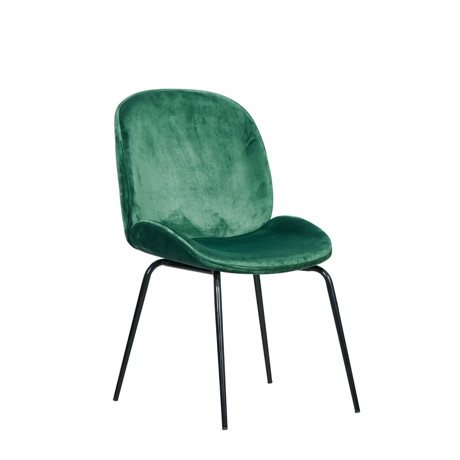 Grace Occasional Chair - Forest Green Seat & Black Legs - Event Artillery