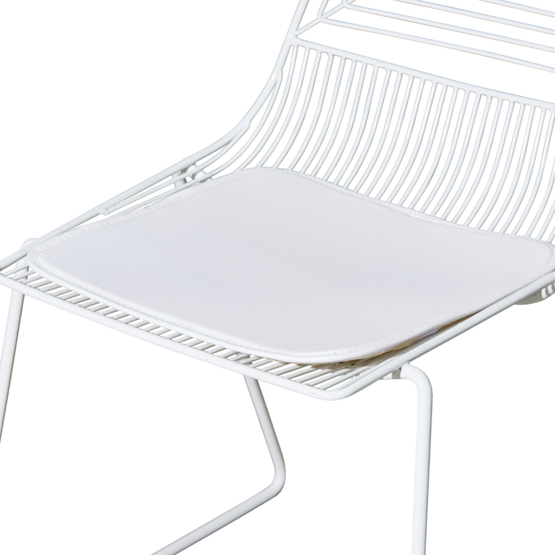 Highline Chair Cushion - White - Event Artillery