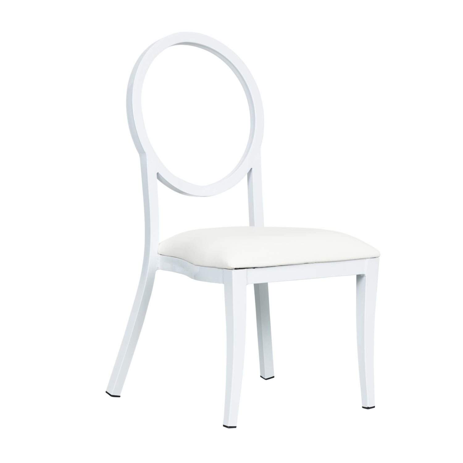 French Dining Chair - White - Event Artillery