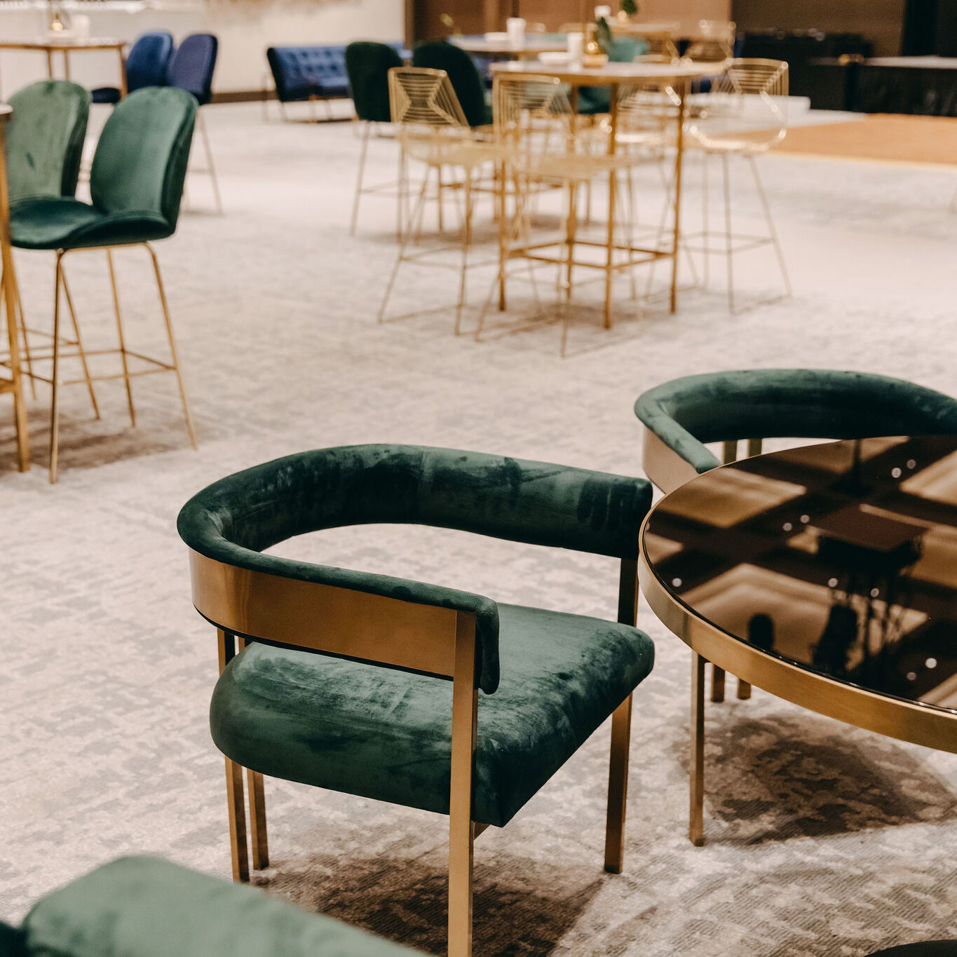 Ivy Occasional Chair - Forest Green - Event Artillery