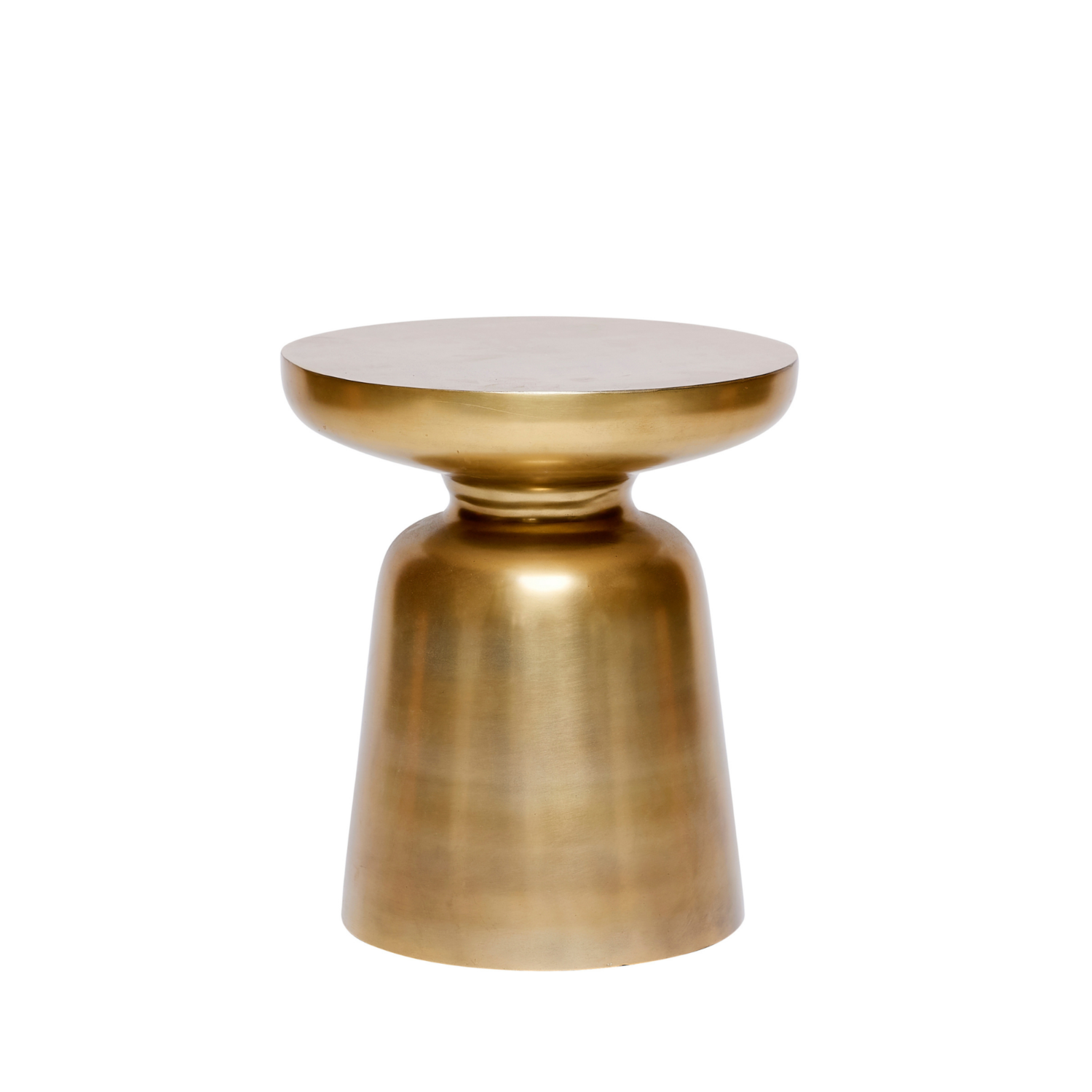 Brushed Side Table - Brass - Event Artillery