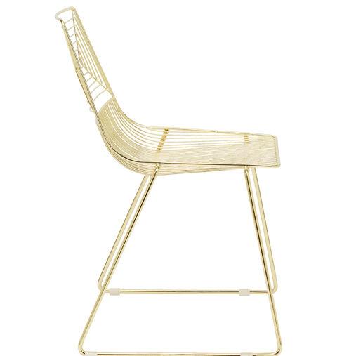 Highline Chair - Gold - Event Artillery