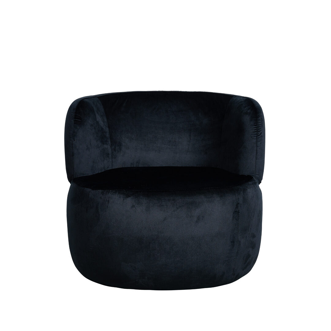 Bay Armchair - Black - Event Artillery