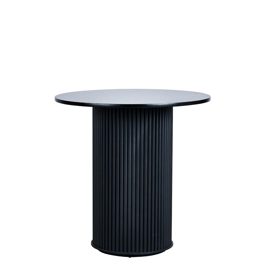 Ripple Cafe Table - Black - Event Artillery