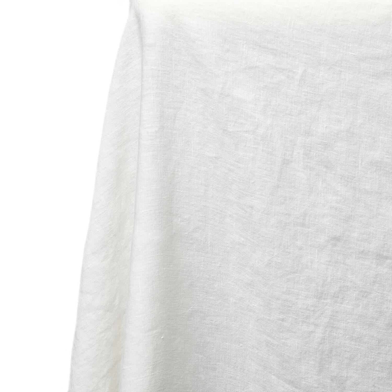 Tablecloth - Cream Linen - Event Artillery